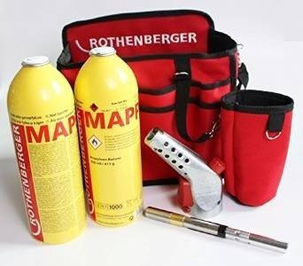 Set Rothenberger: Hotbag Super Fire 3